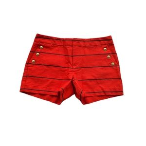 Tommy Hilfiger Nautical High Wasited Size 4 Shorts